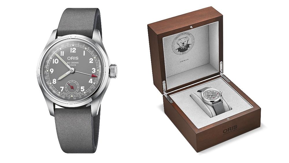 Hölstein 2021 限量腕錶限量250只附專屬錶盒_$110,000 by Oris。