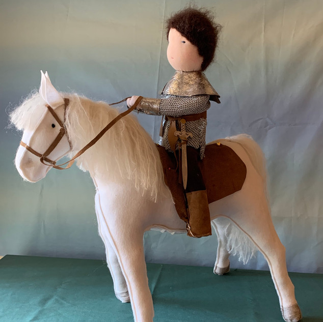 The Knight and His Steed