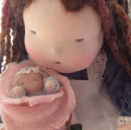 Mother Earth & Baby Rose