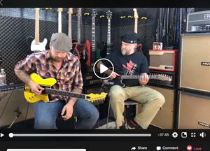Dylan's Guest Spot with Reverend Guitars and Ken Haas