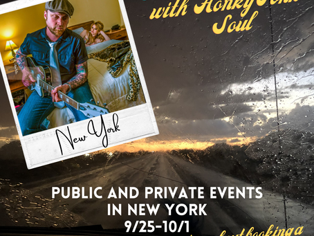 Events this week in New York - Booking private events and house concerts