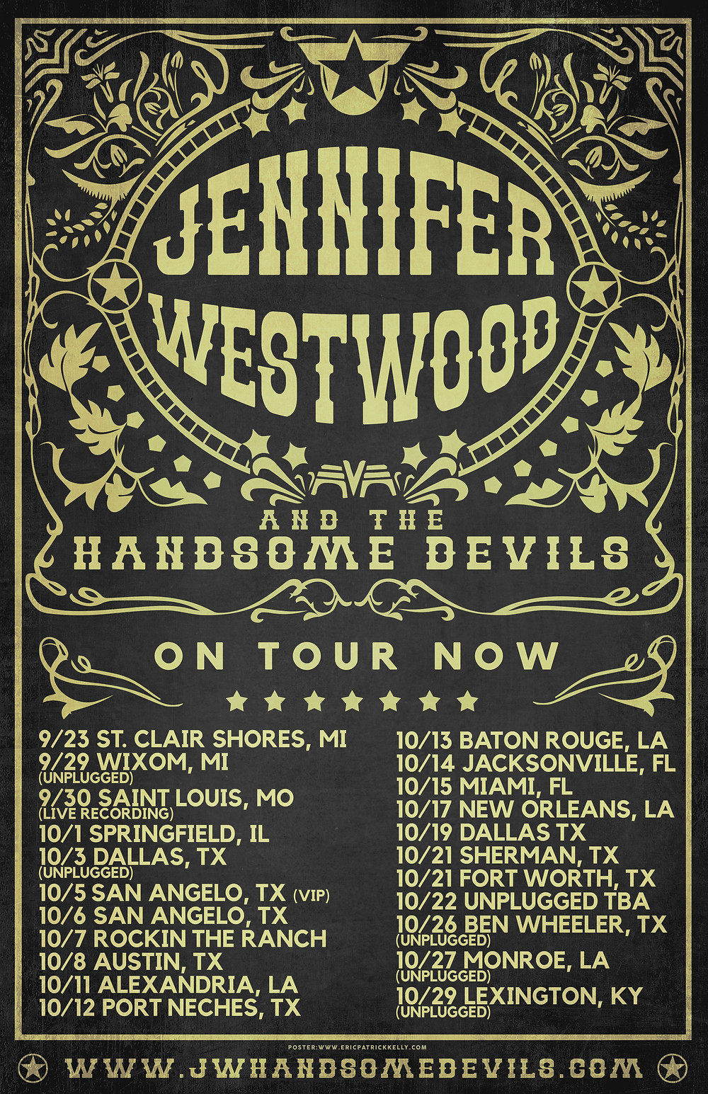 Rockin the Shores in Saint Clair Shores, MI with Shooter Jennings/ - Fall Tour Dates