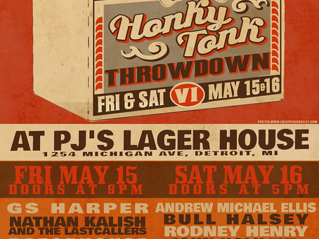 Honky Tonk Throwdown VI Detroit Begins Tomorrow!