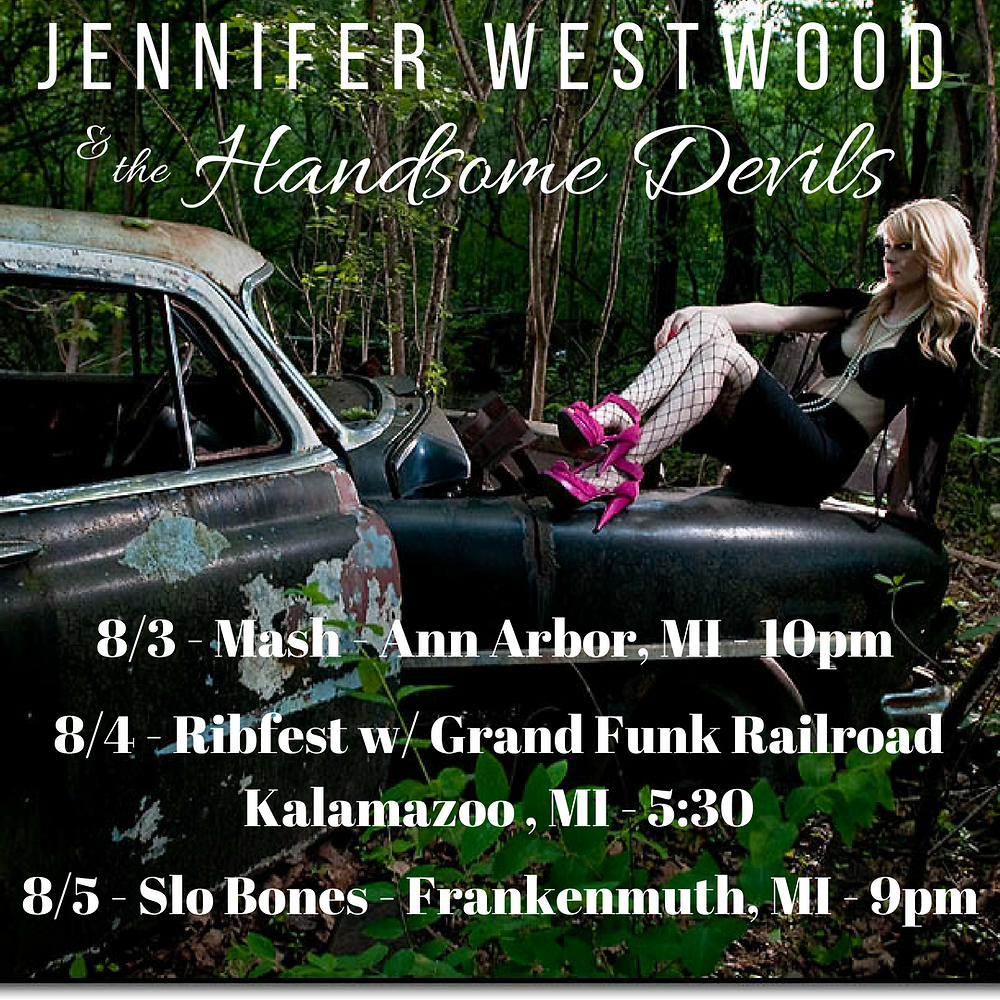 Jennifer Westwood and the Handsome Devils - Michigan Weekend