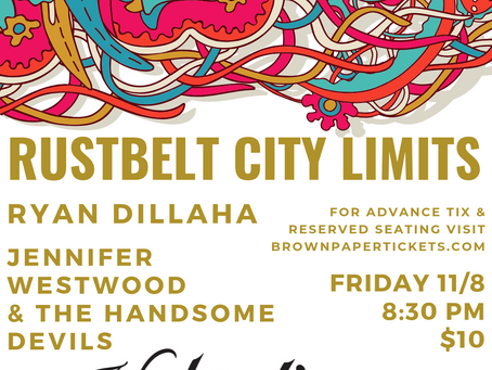Rustbelt City Limits returns to Valentine Distilling