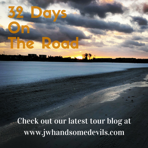 32 days on the road