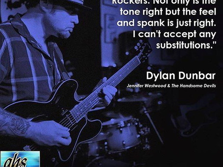 GHS Strings Endorsement - artist quote series w/ our own Dylan Dunbar