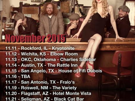 November Tour and Detroit Show at Campus Martius