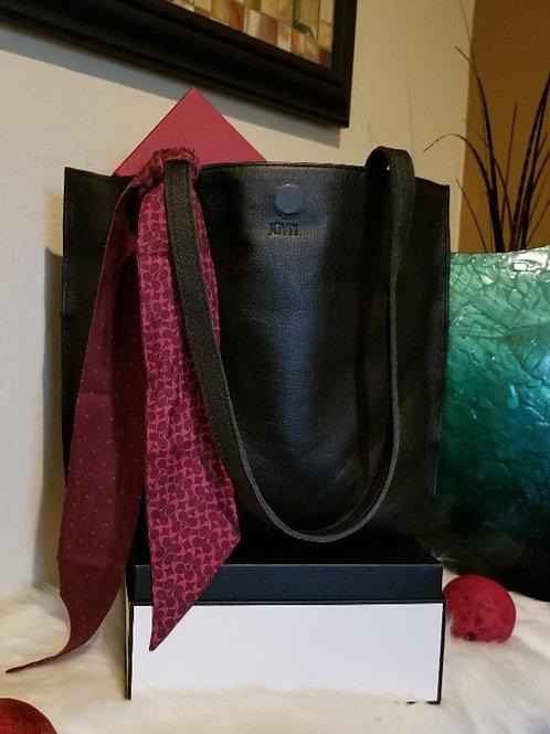 Joyn Bags Everyday Tote in Black Leather