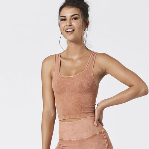 Mineral Be Free Tank Top Terracotta NUX