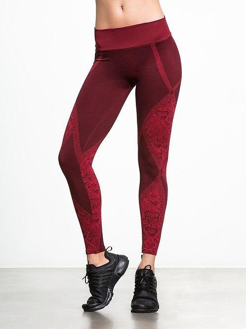 NUX Amore Leggings in RED