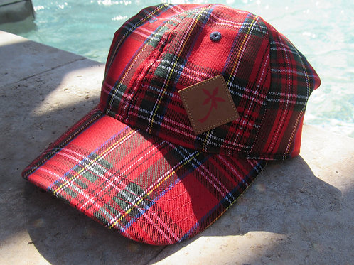 Hoku Wear Tartan Plaid Cap