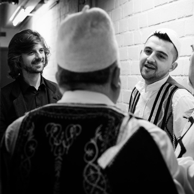 Brihans Gjini, Gramoz, Ylber & Tristan Driessens - 15 yrs Muziekpublique - (c) Simon Blackley