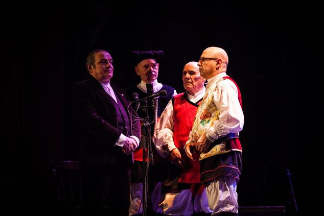 Tenore de Monte Arvu with Voxtra at15 yrs Muziekpublique (c) Simon Blackley
