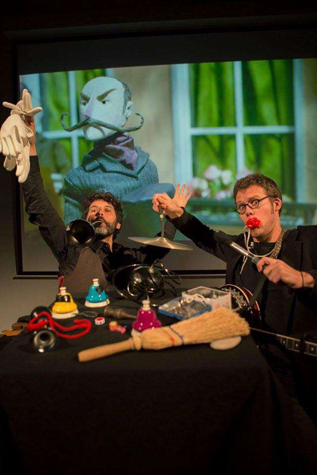 Musique à voir - Mimiques & Tics (c) Dries Segers/Big Bang festival Gent