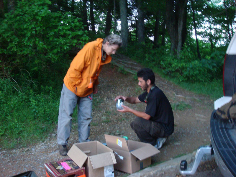 Smoky Mountains expedition - with Prof. Sara Lewis & Lynn Faust