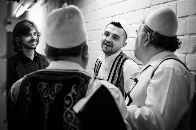 Gramoz & Brihans Gjini & Tristan Driessens 15 yrs Muziekpublique