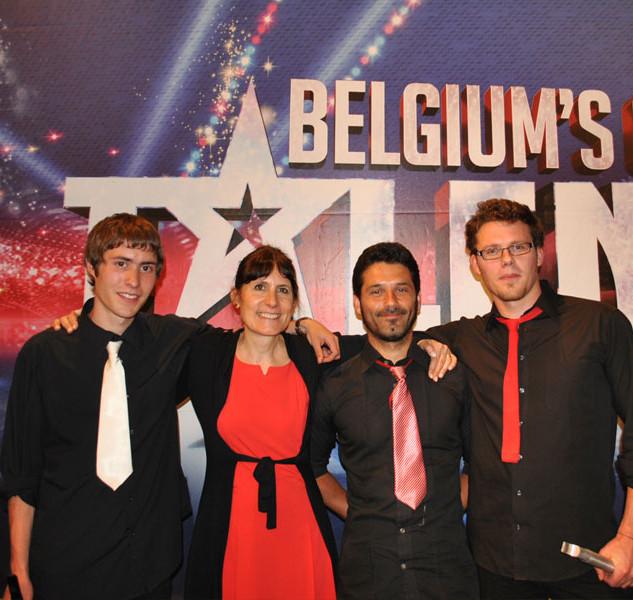 Colette Dedyn & C° .. once at Belgium's got Talent