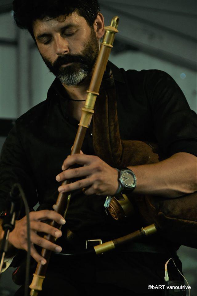 Raphael De Cock (uillean pipes in Bb)