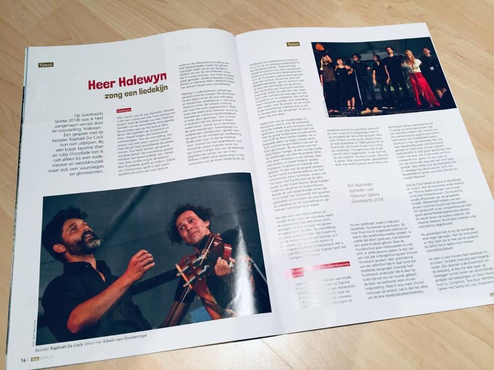 Halewyn in magazine Folk