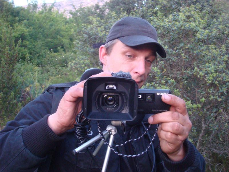 Colleague Sascha Grimm  - SE France expedition 2014