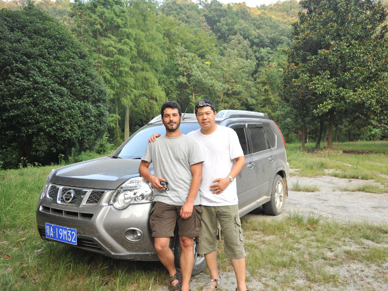 With Prof. Dr. Xinhua Fu - Expedition China (Wuhan & Shandong prov.)