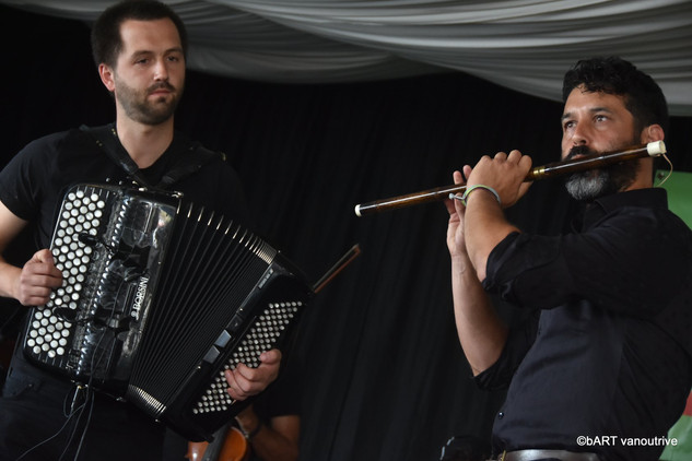 Bert Ruymbeek (chrom. accordeon) & Raphael De Cock (bawu)