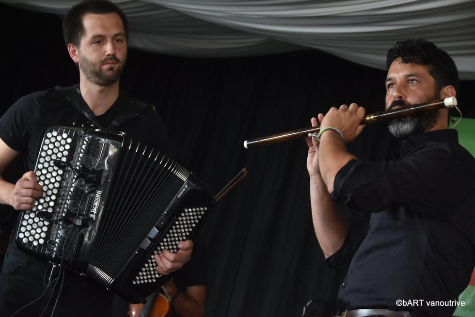 Bert Ruymbeek (chrom. accordeon) & Raphael De Cock (bawu)