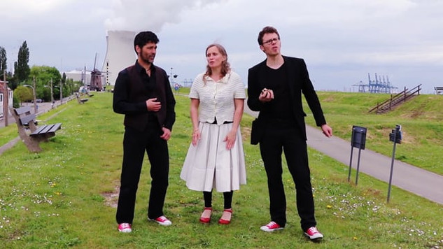 Griff trio - L' Errant - videoteaser by Iwona Pom