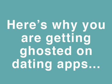How to stop getting ghosted on dating apps (Tinder/Bumble/Hinge)