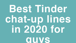 Best pick up lines on Tinder for a guy in 2022.