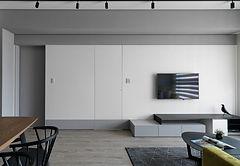 此空間使用者有著減法生活的核心精神,將此生活哲學的精神延伸至空間設計之中.jpg