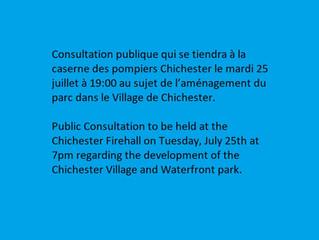 Aménagement du parc dans le village de Chichester !!Chichester village and Waterfront park !!! Publi