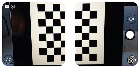 Checkerboard in the middle