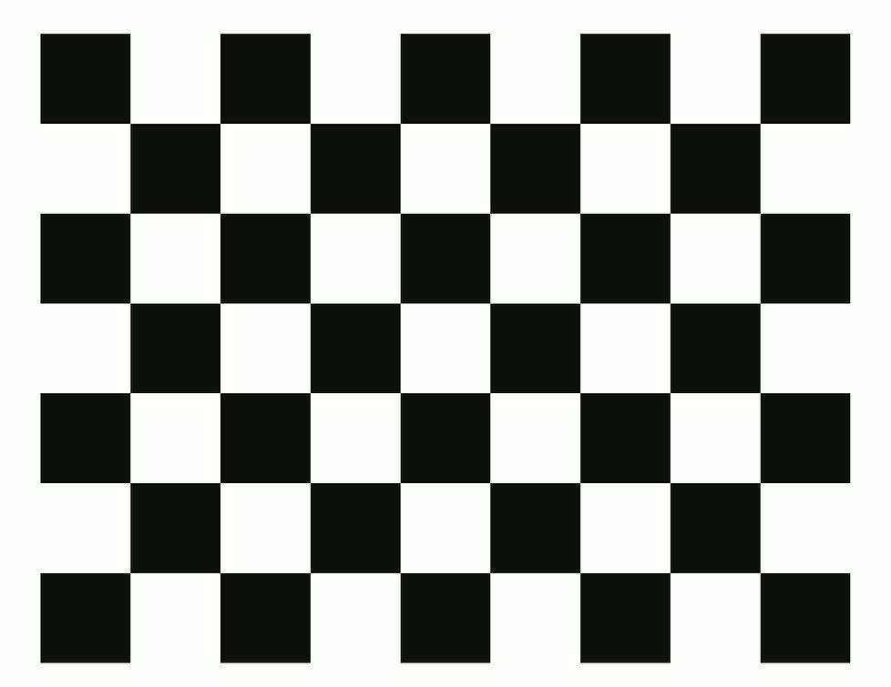 Checkerboard A4 30mm 8x6 - 2000px wide -