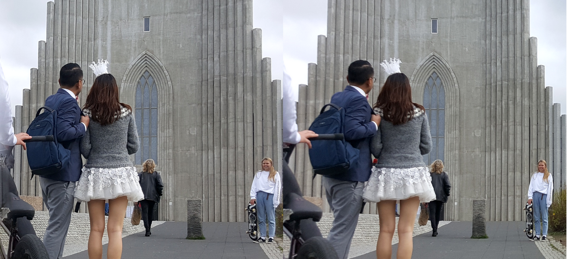 Just married by Hallgrímskirkja Reykjavik.png