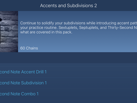 Accents & Subdivisions 2