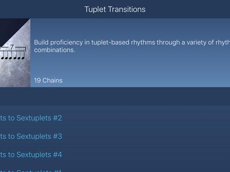 Tuplet Transitions 2