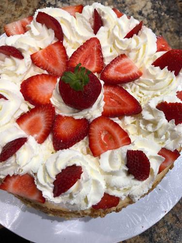 Strawberry Cake - $24.00