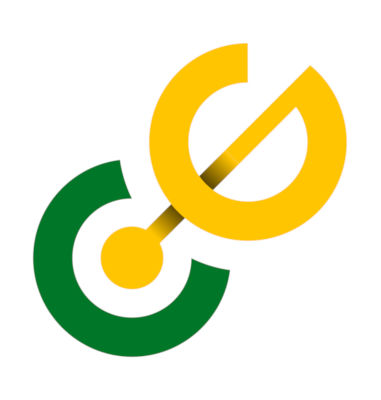 Connect Groups Logo - Green  Yellow angl