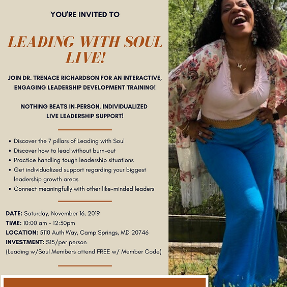 Leading with Soul Live!