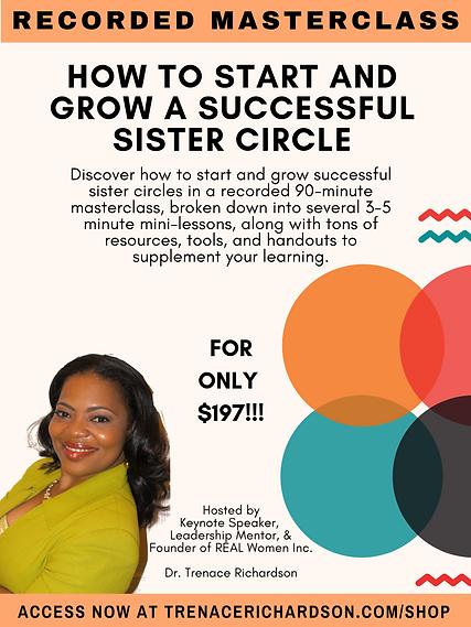 197Masterclass Successful Sister Circle_