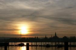 Sonnenuntergang Konstanz