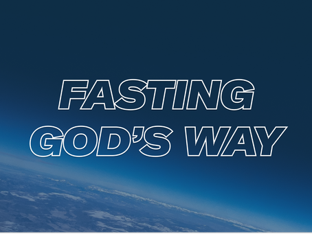 FASTING AND PRAYER (message & guide)