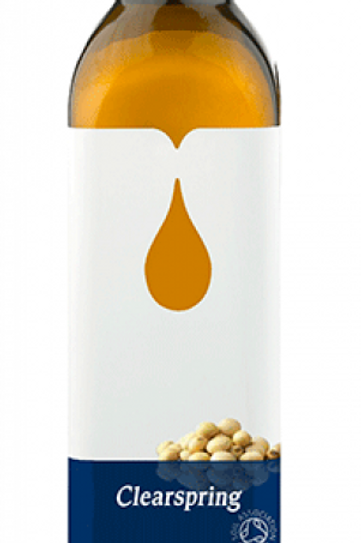 Clearspring Organic Cold Pressed Soybean Oil (500ml)