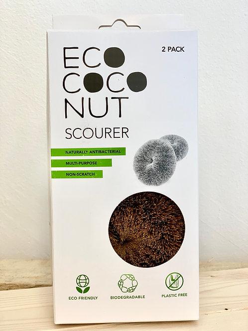 Eco CocoNUT Scourer (Twin Pack)