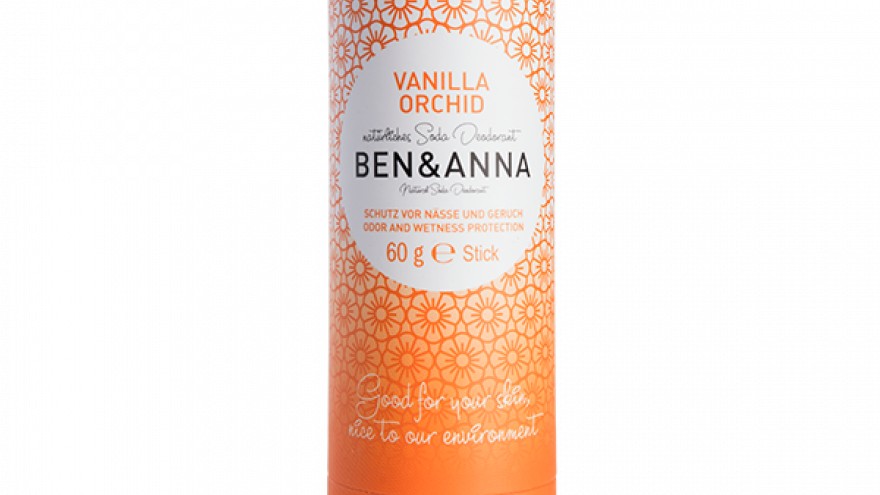 Ben & Anna - Vanilla Orchid Deodorant (60g)