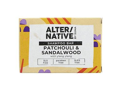 Alternative Patchouli & Sandalwood Glycerine Shampoo Bar