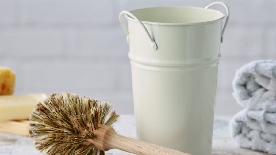 Plastic Free Toilet Brush & Holder Set - Large Brush