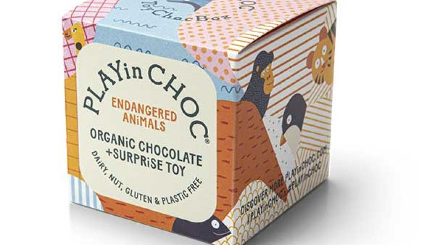 Endangered Animals & Organic Chocolate Box